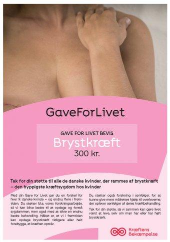 Gave for livet - Brystkræft