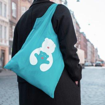 Mulepose med Bamsekram