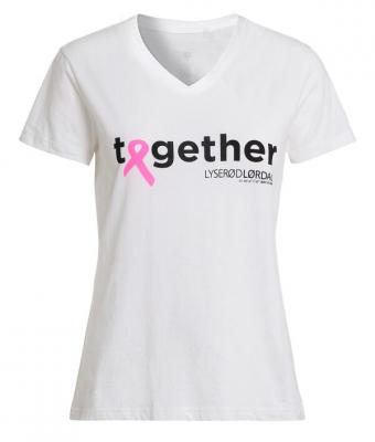Lyserød Lørdag T-shirt