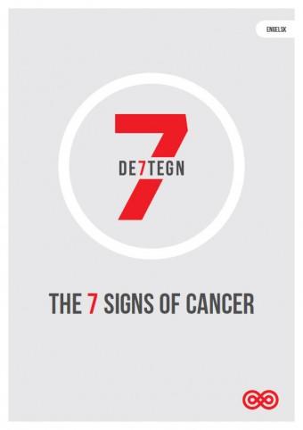 De 7 tegn på kræft - engelsk